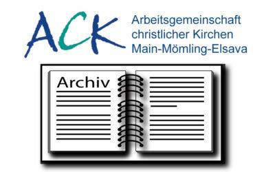 Archiv der ACK Main-Mömling-Elsava