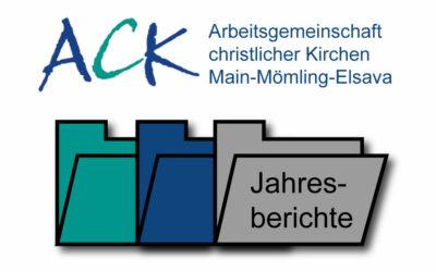 Jahresberichte der ACK Main-Mömling-Elsava